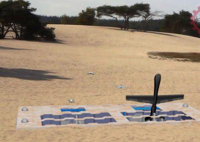 Fifty50 Backoff Dual Hangar Modules - Desert Model
