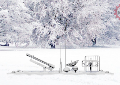 Fifty50 Backoff ISR & Skid Steer - Arctic Model